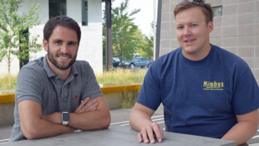 Kevin Krauth (left) and James Dickhoner of Orderly Health  recently developed a conversational interface that helps users manage their healthcare spending.