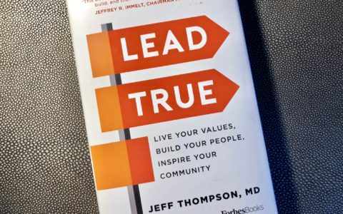 Photo of the cover of the book Lead True